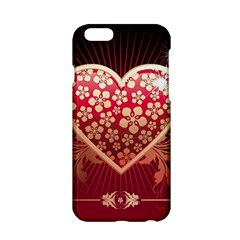 Heart Patterns Lines  Apple Iphone 6/6s Hardshell Case by amphoto