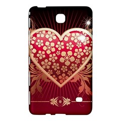 Heart Patterns Lines  Samsung Galaxy Tab 4 (7 ) Hardshell Case  by amphoto