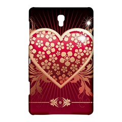 Heart Patterns Lines  Samsung Galaxy Tab S (8 4 ) Hardshell Case  by amphoto