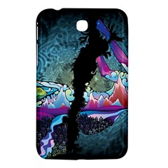 Girl Dress Fly  Samsung Galaxy Tab 3 (7 ) P3200 Hardshell Case  by amphoto