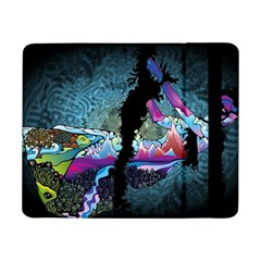 Girl Dress Fly  Samsung Galaxy Tab Pro 8 4  Flip Case by amphoto