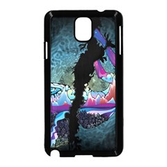 Girl Dress Fly  Samsung Galaxy Note 3 Neo Hardshell Case (black) by amphoto