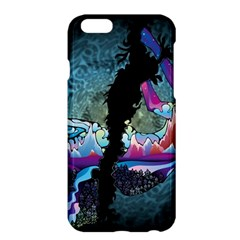 Girl Dress Fly  Apple Iphone 6 Plus/6s Plus Hardshell Case by amphoto