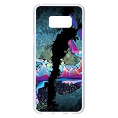 Girl Dress Fly  Samsung Galaxy S8 Plus White Seamless Case