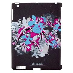 Skulls Ghosts Illustration  Apple Ipad 3/4 Hardshell Case (compatible With Smart Cover) by amphoto