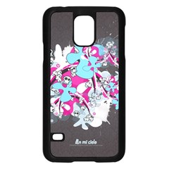 Skulls Ghosts Illustration  Samsung Galaxy S5 Case (black) by amphoto