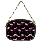 Flamingo pattern Chain Purses (Two Sides)  Back