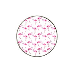 Flamingo Pattern Hat Clip Ball Marker