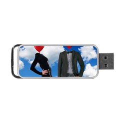 Love Portable Usb Flash (two Sides)
