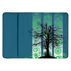 Tree Circles Lines  Samsung Galaxy Tab 8 9  P7300 Flip Case by amphoto