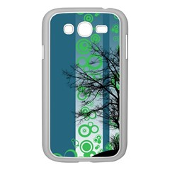 Tree Circles Lines  Samsung Galaxy Grand Duos I9082 Case (white) by amphoto