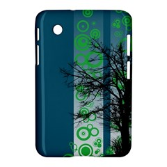 Tree Circles Lines  Samsung Galaxy Tab 2 (7 ) P3100 Hardshell Case  by amphoto
