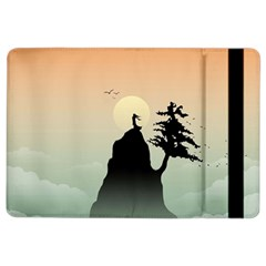 Cliff Mountain Tree  Ipad Air 2 Flip by amphoto