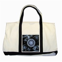 Figure Compound Mechanism  Two Tone Tote Bag by amphoto