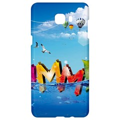 Summer Sea Clouds  Samsung C9 Pro Hardshell Case  by amphoto