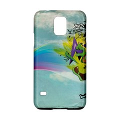 Man Crazy Surreal  Samsung Galaxy S5 Hardshell Case  by amphoto