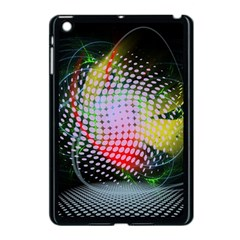 Colorful Lines Dots  Apple Ipad Mini Case (black) by amphoto