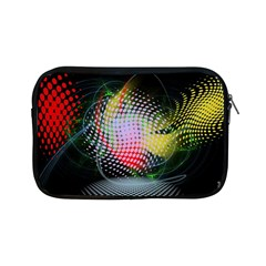 Colorful Lines Dots  Apple Ipad Mini Zipper Cases by amphoto