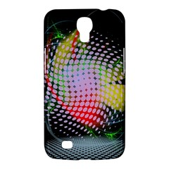 Colorful Lines Dots  Samsung Galaxy Mega 6 3  I9200 Hardshell Case by amphoto