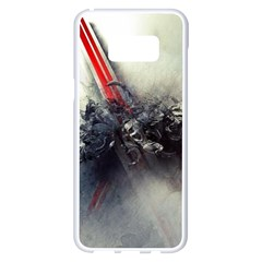 Blast Paint Shadow  Samsung Galaxy S8 Plus White Seamless Case by amphoto