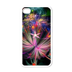 Patterns Lines Bright  Apple Iphone 4 Case (white) by amphoto