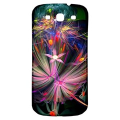 Patterns Lines Bright  Samsung Galaxy S3 S Iii Classic Hardshell Back Case by amphoto