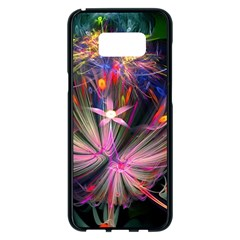 Patterns Lines Bright  Samsung Galaxy S8 Plus Black Seamless Case by amphoto