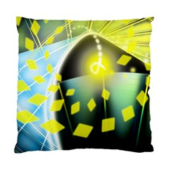 Line Light Form  Standard Cushion Case (one Side) by amphoto