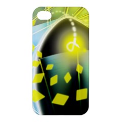 Line Light Form  Apple Iphone 4/4s Hardshell Case by amphoto