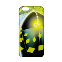 Line Light Form  Apple Iphone 6/6s Hardshell Case by amphoto
