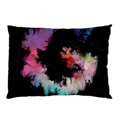 Stains Lines Patterns 3840x2400 Pillow Case by amphoto