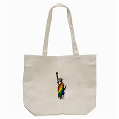 Pride Statue Of Liberty  Tote Bag (cream) by Valentinaart