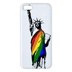 Pride Statue Of Liberty  Iphone 5s/ Se Premium Hardshell Case by Valentinaart