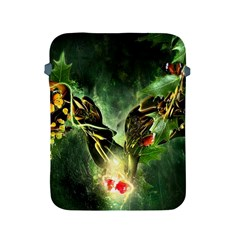 Leaves Explosion Line  Apple Ipad 2/3/4 Protective Soft Cases by amphoto