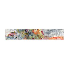 Texture Patterns Strokes  Flano Scarf (mini) by amphoto