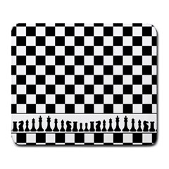 Chess  Large Mousepads by Valentinaart