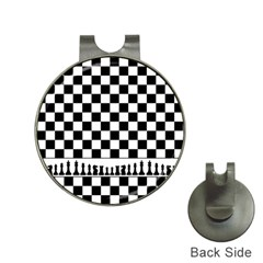 Chess  Hat Clips With Golf Markers by Valentinaart