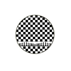 Chess  Hat Clip Ball Marker by Valentinaart