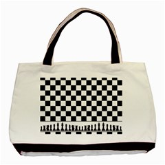 Chess  Basic Tote Bag (two Sides) by Valentinaart