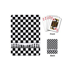 Chess  Playing Cards (mini)  by Valentinaart