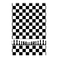 Chess  Shower Curtain 48  X 72  (small)  by Valentinaart