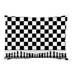 Chess  Pillow Case (two Sides) by Valentinaart