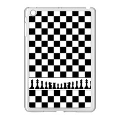 Chess  Apple Ipad Mini Case (white) by Valentinaart