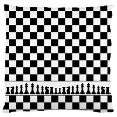 Chess  Large Flano Cushion Case (one Side) by Valentinaart
