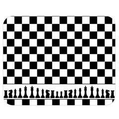 Chess  Double Sided Flano Blanket (medium)