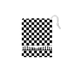 Chess  Drawstring Pouches (xs)  by Valentinaart