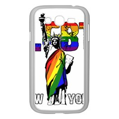 Lgbt New York Samsung Galaxy Grand Duos I9082 Case (white) by Valentinaart