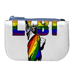 Lgbt New York Large Coin Purse by Valentinaart