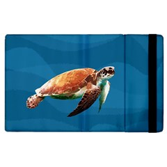 Sea Turtle Apple Ipad 2 Flip Case by Valentinaart
