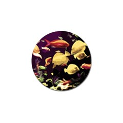 Tropical Fish Golf Ball Marker (4 Pack) by Valentinaart
